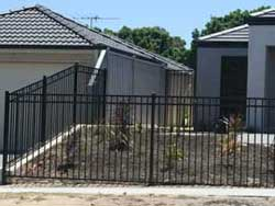 Metal Fencing Custom Project