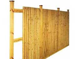 Wooden Fencing Custom Project