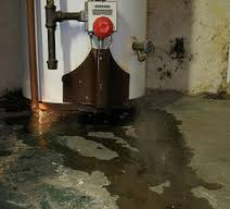 water heater puddle