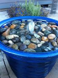 flower pot water feature