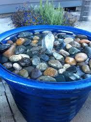 flower pot water feature